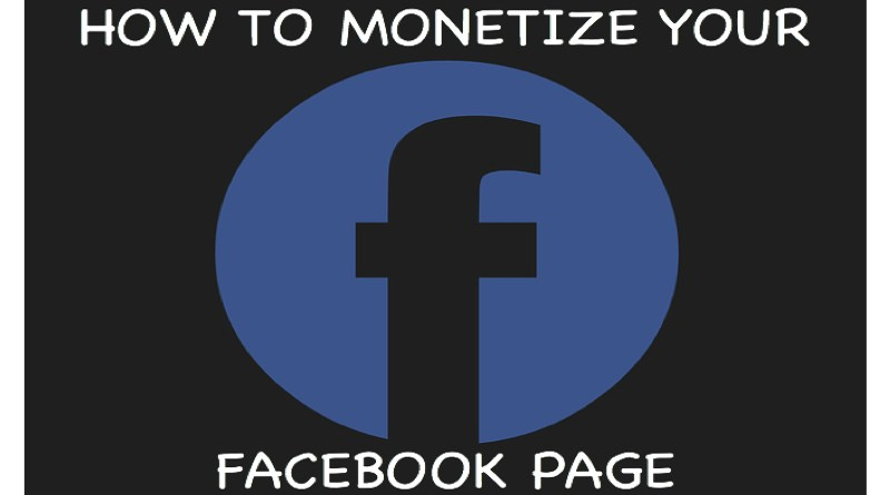 How to monetize your facebook page