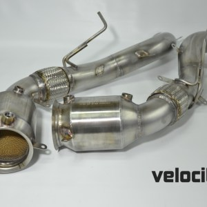 McLaren 200 Cell Ultra-High Temp Sport Catalyst Pipes