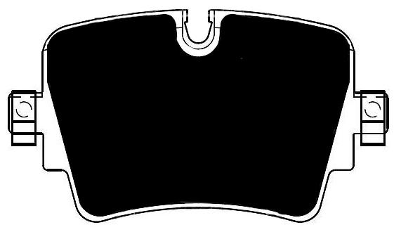 Jaguar F-Type Porterfield R4-S Brake Pads Rear AP 1753