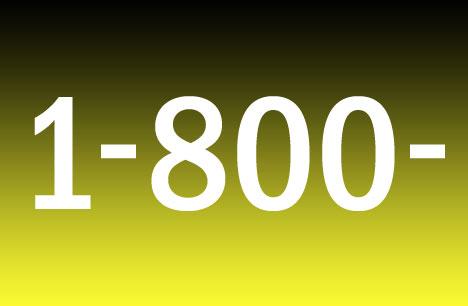 toll free 800 phone