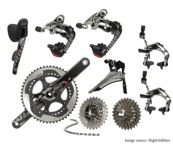 Road Bike Groupsets: Everything you need to know!