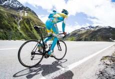 Roman Kreuziger, training Swiss Alps