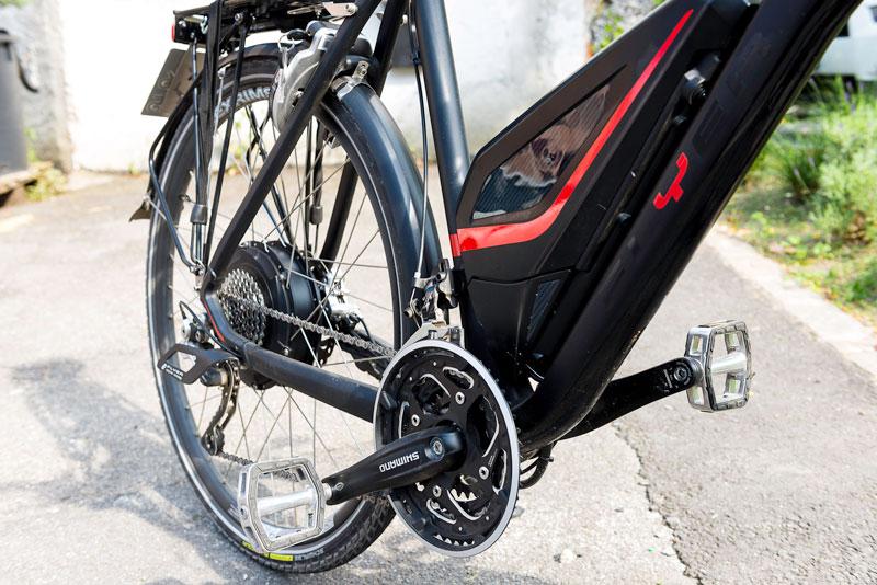 500 Watt im Hinterrad machen Rad und Radler munter: Das Flyer «Vollblut».