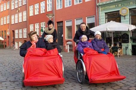 Radeln ohne Alter - Anina Flury und Ole Kassow