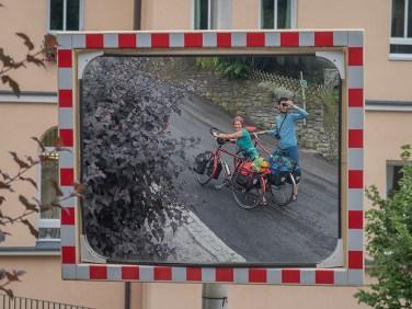 Schieben ist angesagt: im steilen Anstieg hoch nach Bad Gastein. | © 2018 Dominik Thali