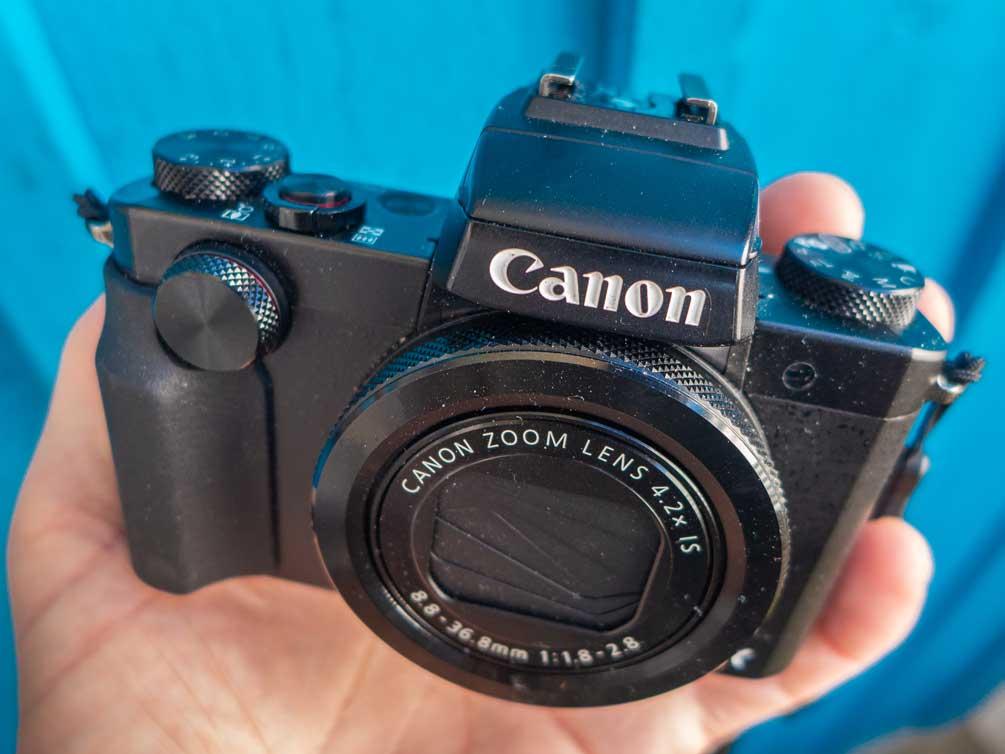 Die Kamera Canon PowerShot G5X
