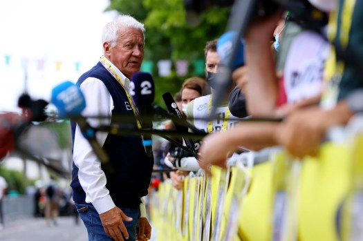Cycling world condemns Patrick Lefevere's comments about mental weakness