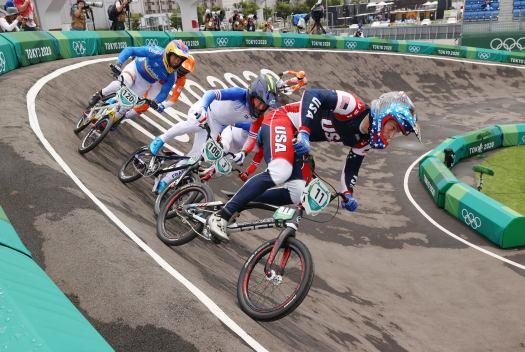 VN news ticker: U.S. rider Connor Fields stable after brain hemorrhage in Olympic BMX race crash