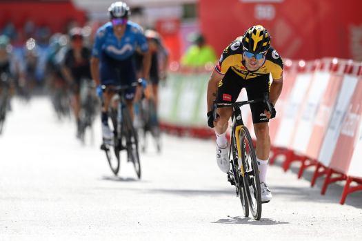 Vuelta a España: Primož Roglič silences critics with stunning stage victory