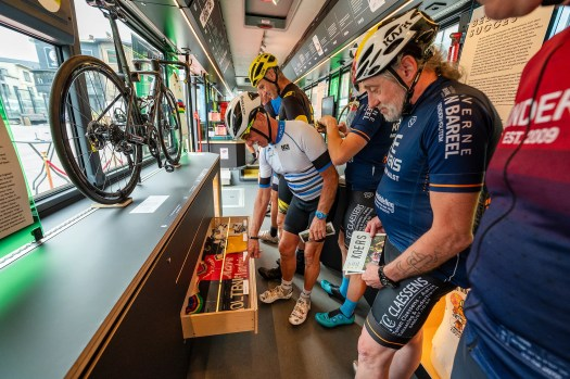 Get on the bus: the KOERSbus is a world championships exhibit on wheels