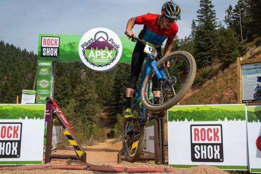 The Pikes Peak Apex p/b Rock Shox: 'Is it a pro race or an amateur race? It's both.'
