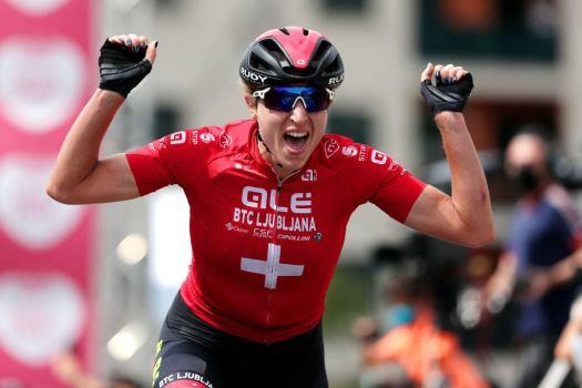 Ceratizit Challenge by La Vuelta: Marlen Reusser wins stage 1 mountain test from break
