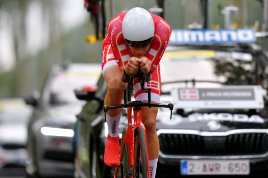 World Championship U23 time trial: Johan Price-Pejtersen delivers for Denmark