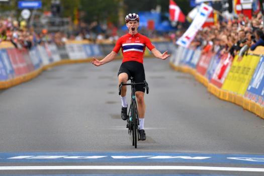 Per Strand Hagenes wins junior men's road race world title