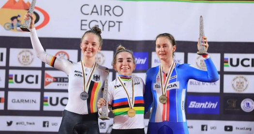 VN news ticker: USA junior Kaia Schmid wins two medals at junior track worlds