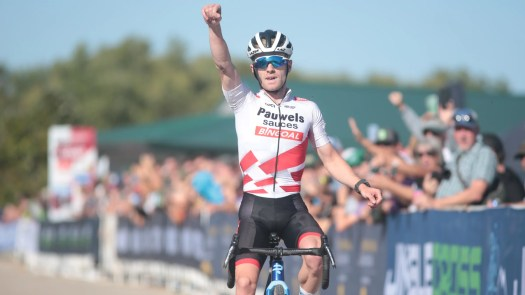 Elite Iserbyt takes the win at Iowa City UCI Cyclocross World Cup