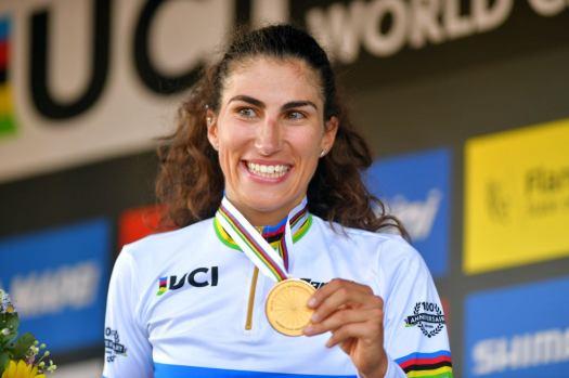 Elisa Balsamo: Winning world championships was 'revenge' after Olympics crashes