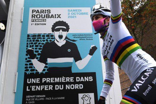 What does it mean to be at the start of the inaugural Paris-Roubaix Femmes? We asked the riders