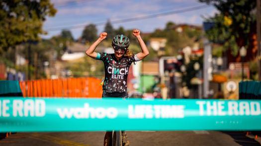 Lauren De Crescenzo, John Keller win The 'Rad 165mi gravel race