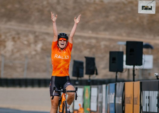 Rally Cycling dominates Sea Otter circuit race with three on the podium