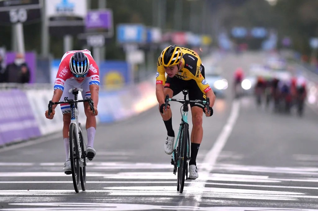 https www velonews com news road with or without them wout van aert and mathieu van der poel shaped opening weekend