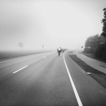 Nebel am Morgen – Plötzlich waren 40 Mann hinter einem