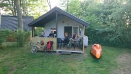 En af vores hytter Samsø