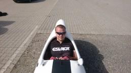 Steffen og Strada Carbon parat til turen tilbage til Esbjerg