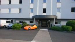 Afgang Hotel nær Fougéres