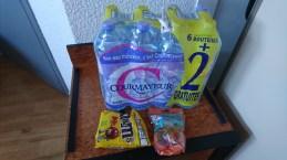 Vand og sukker til næste dag