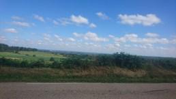 Den lange 14 km tur til toppen