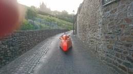 Fougéres umulig at cykle op ad i Strada