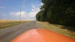 Små veje med op og ned af bakke