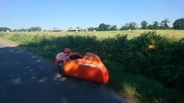Strada pauser igen i skyggen Sens-de-Bretagne