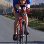A storming ride in another hilly time trial by Graeme showed he still has all his natural class and is set for a great 2007.