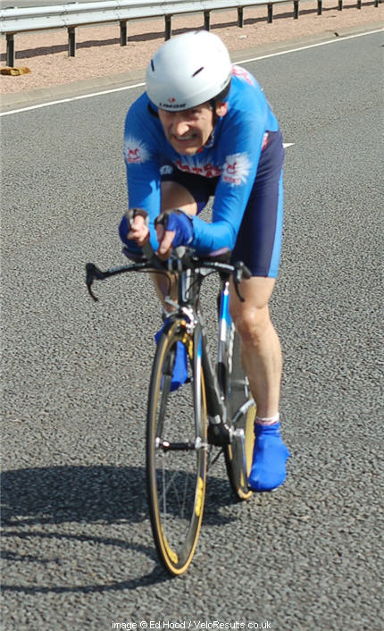 Steve Beech, rode the Milk Race when we were lads, battling hard-as-nails Russians. Respect.