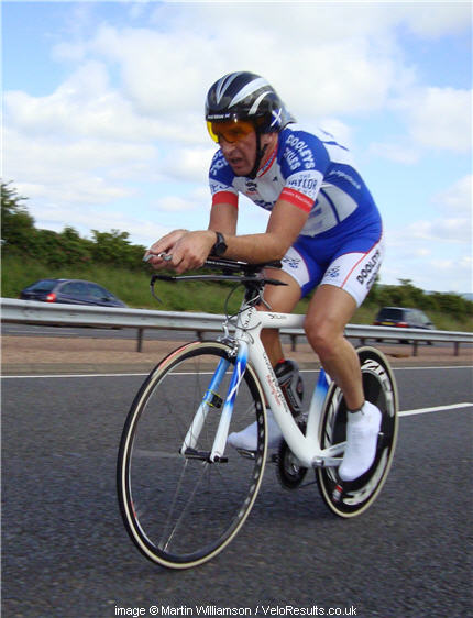 Davie rode his typical solid race, and collected another team championship medal as a result.