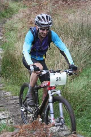 Gavin doesn't just compete in road races - here he is in the Relentless 24 hour MTB event.