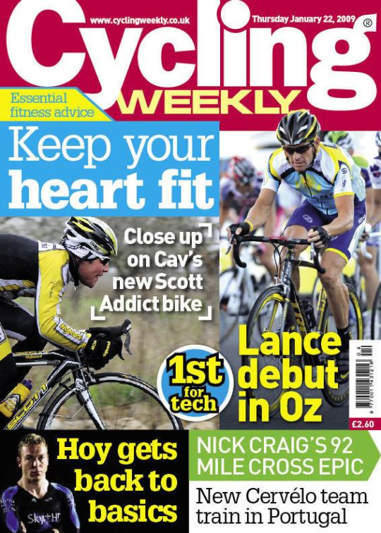 Cycling Weekly has shifted focus, and managed to retain readership.