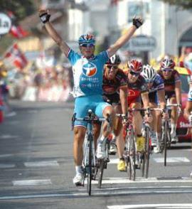 Fedrigo is building a good record in the Tour.