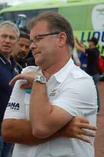 Astana manager, Yvon Sanquer was floating high.