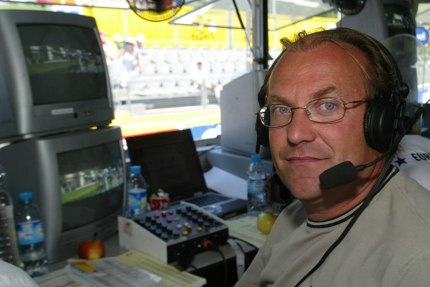 Laurent enjoyed his work as a commentator.