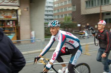 Philippe Gilbert looked happy to be here.