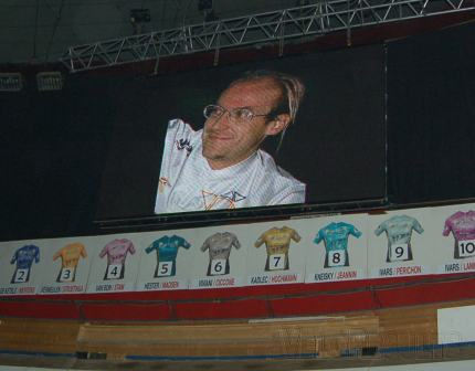 The Six's tribute to Laurent Fignon.
