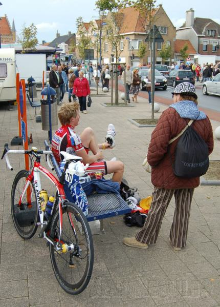 ...and this one as well. In Belgium, you don't have to explain to people what you're doing - they understand.