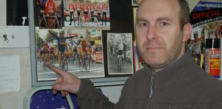 When Leone won the Scheldeprijs. Ronny points himself out, in 4th place.