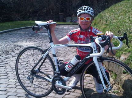 Dan loves his new bikes.