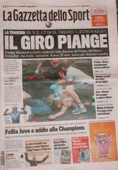 The Giro Weeps.