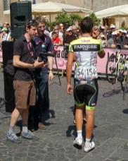Matt Rabottini takes baby steps to save his legs.