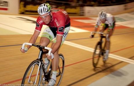 Roger Kluge in action.